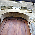 fabrication d une porte louis XIII et pose
