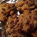 Les cookies au chocolat au lait de pascalou