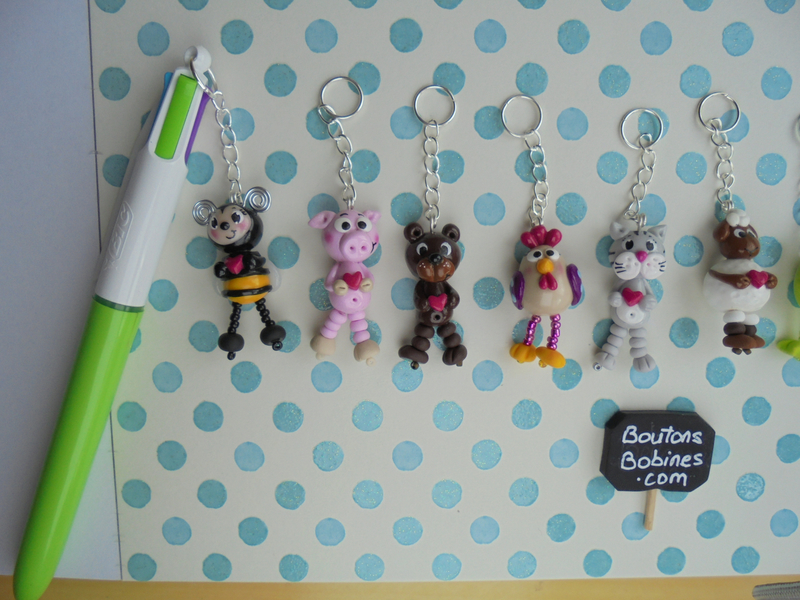 breloques à stylos animaux (2)