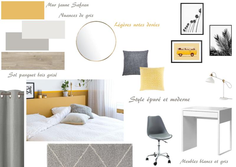 Planche de style - Chambre 4