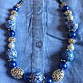 COLLIER BLEU BLUE