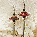 ♥ boucles d'oreilles yoyos / yo yo earrings ♥