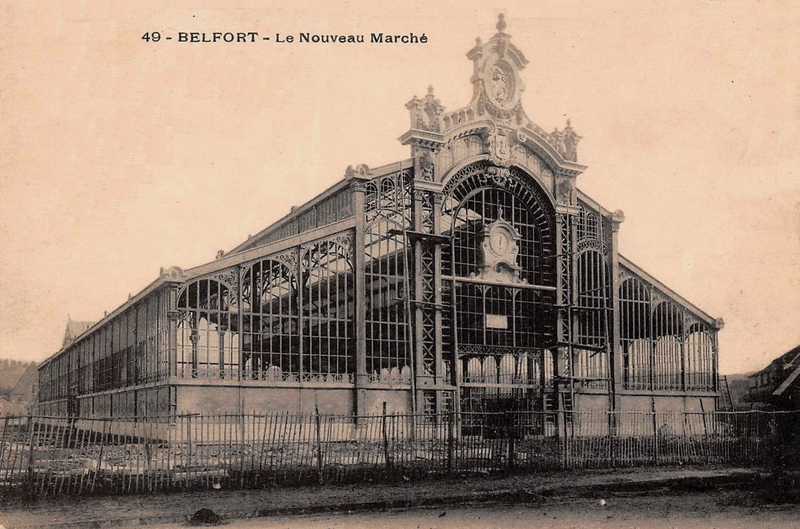 CPA Belfort Hall Marché