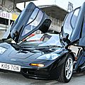 Mclaren f1 - bugatti veyron 16.4 - clash of the titans - photos @ circuit gueux (france) -