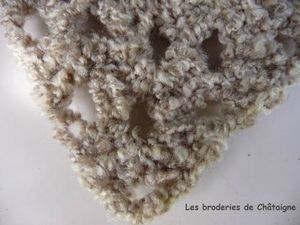 Châle bouclette (2)