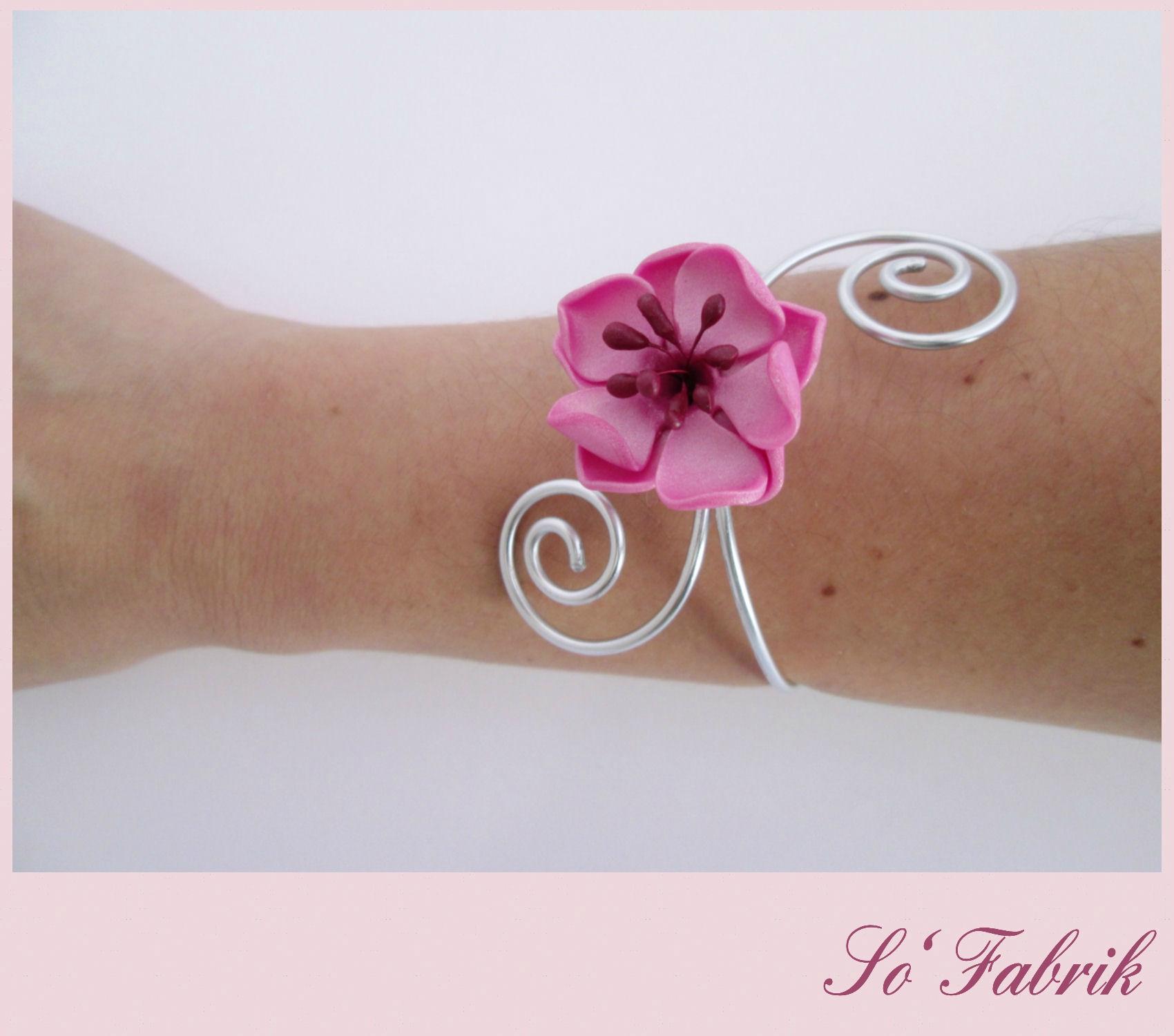 Parure SAKURA Alu le bracelet 1
