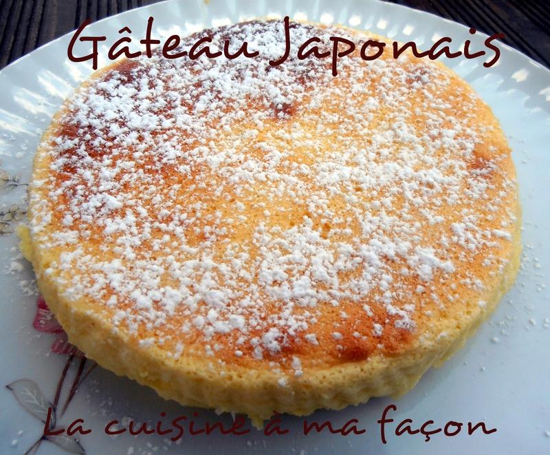 gâteau Japonais 2
