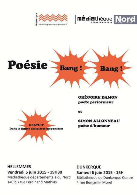 Poésie Bang ! Bang ! Damon & Allonneau