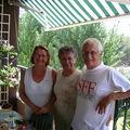 Roger et Evelyne en ma compagnie