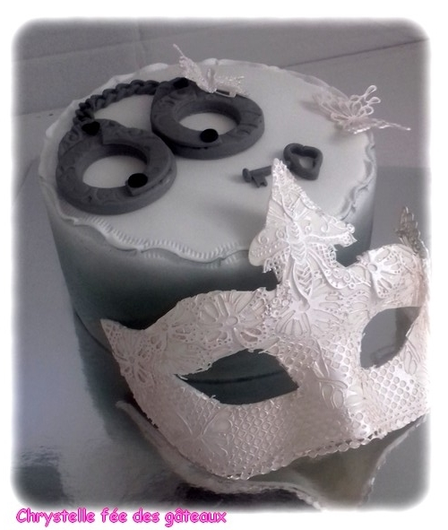 gateau 50 nuances de grey