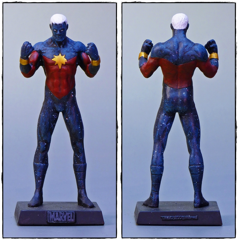 captain marvel eaglemoss