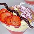 Crème mascarpone et fraises