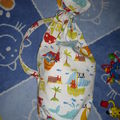 sac à jouets nomade