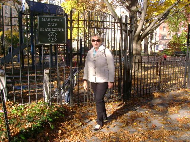 En vadrouille dans Central Park (Novembre 2008)