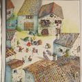 Au beau village des contes (illustration)