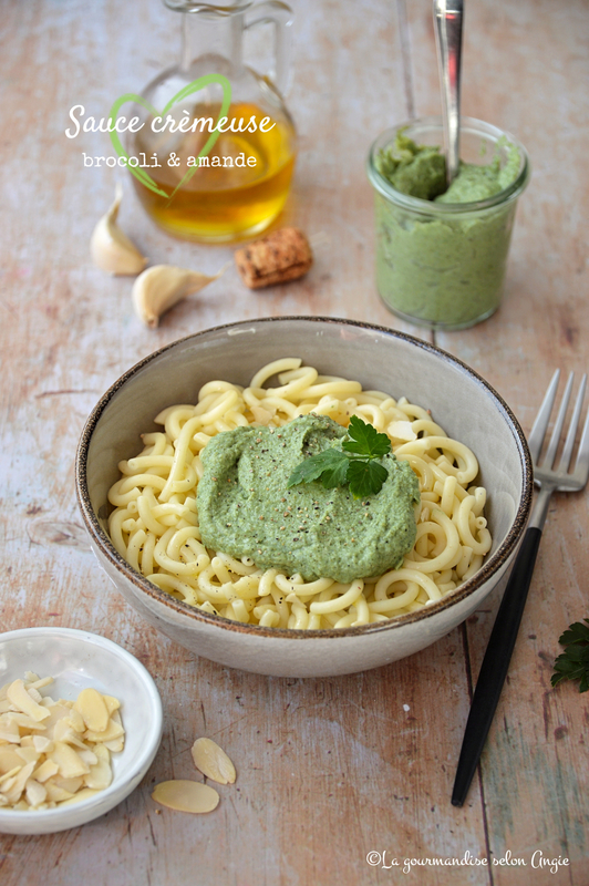 sauce crémeuse brocoli amande vegan sans gluten sans lactose (1)