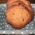 Les cookies géants de perséides: une gourmandise chocolat caramel en xxl