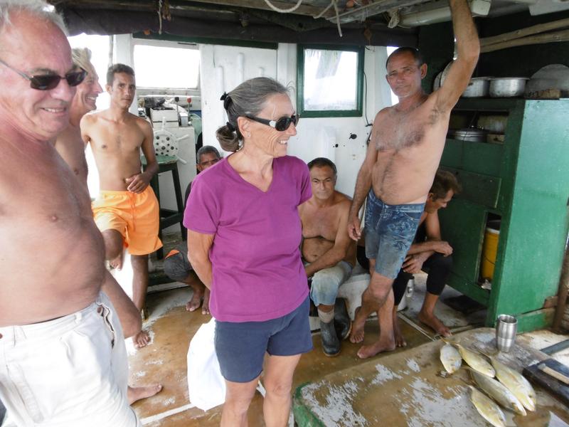 Pêcheurs à Cayo Guayo (8)