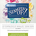 Lancement du catalogue stampin' up! 2018-2019