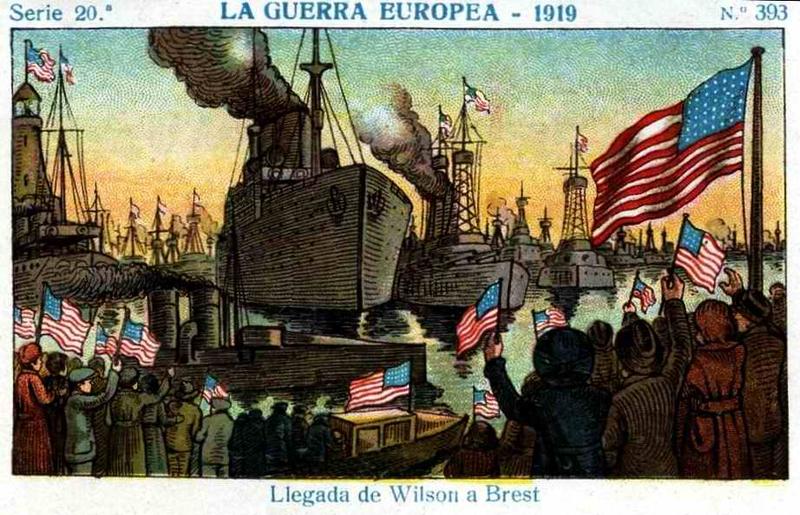 Carte postale espagne Brest