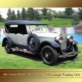 1926 - Mc Farlane Model 145 TV Six- 7 Passenger Touring