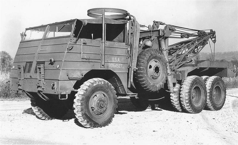 Kenworth wrecker 1942