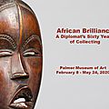 Palmer museum of art premieres brilliant exhibition of african art