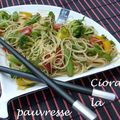 Salade tiède chinoise