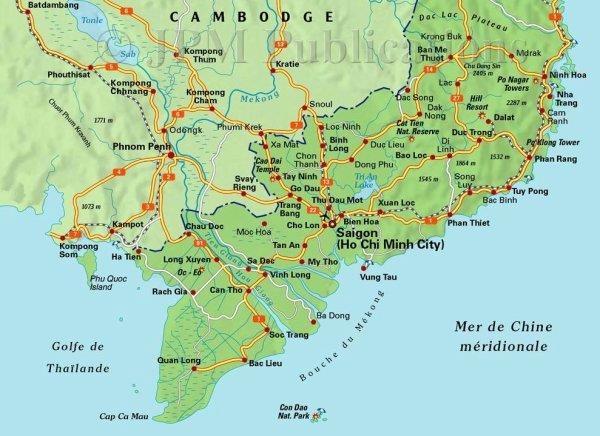 carte-vietnam-sud