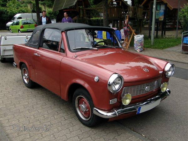 trabant 601s cabriolet 1