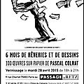 Invitation a l'exposition pascal colrat