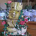 Wedding cake g&d