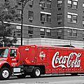 New york - coca cola - photo retouchée