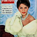 Paris match 27/12/1958