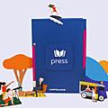 Votre kiosque de presse digitale gratuite avec air france ( en video )