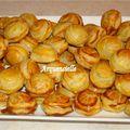 Bouchées thon sauce crémée détail