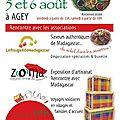 Encore un marché artisanal malgache...