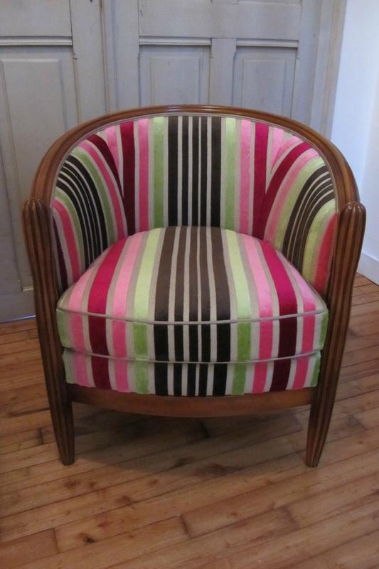 retapisser un fauteuil tapissier à Brest
