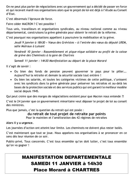 Déclaration unitaire 9 janvier 2020 page 2