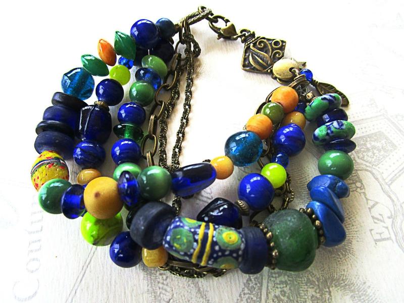 bracelet bleu 001