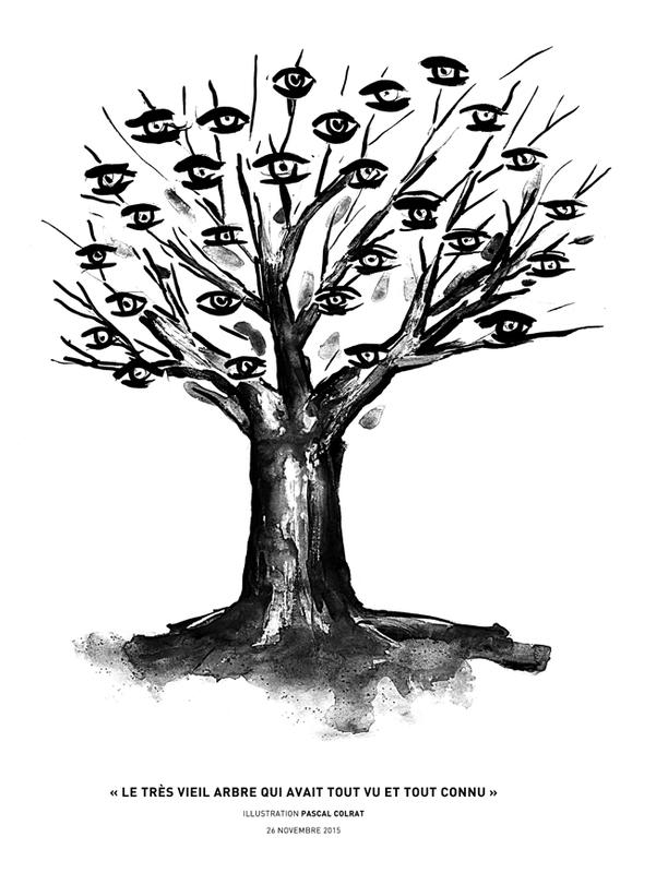 le très vieil arbre qui avait tout vu et tout connu