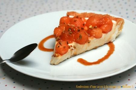 Tarte melon-muscat 8