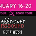 ** blog tour ** offensive rebound
