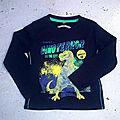 Tee-shirt dinosaure, 3 ans