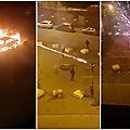 Tirs de mortiers d'artifice et véhicules incendiés : troisième nuit de violences urbaines à tourcoing