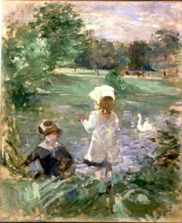 Morisot-au-bord-du-lac