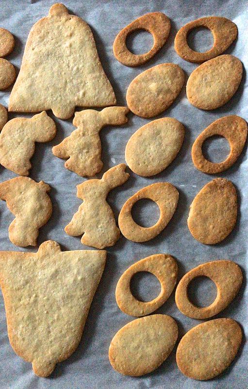 biscuits-lunettes pour Pâques