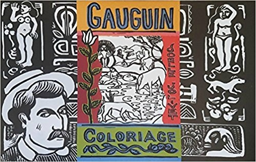 gauguin coloriage