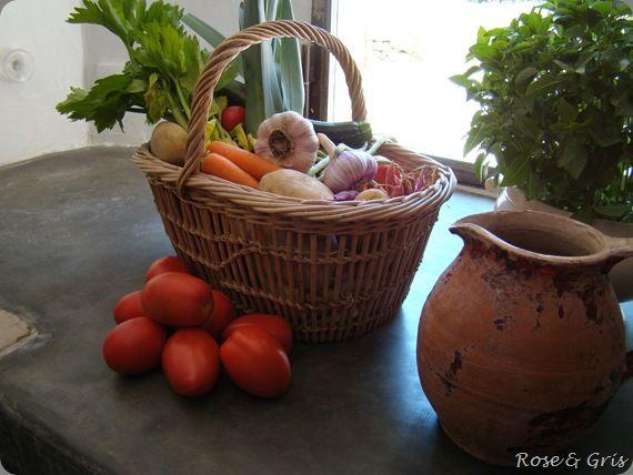 les légumes de la soupe au pistou