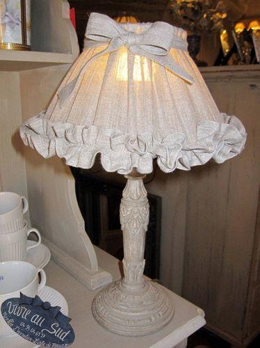 Voiçi de trés jolies lampes avec leurs abats jours vus en détails 2 copie